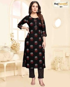 BUNDLE OF 6 WHOLESALE KURTI CATALOG 28-503 BY RAJNANDINI