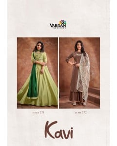 BUNDLE OF 2 WHOLESALE KURTI CATALOG Kavi VOL-1  BY VARDAN