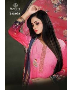 "BUNDLE OF 4 WHOLESALE SALWAR SUIT CATALOG ""sajada BY Azara"