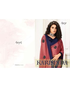 BUNDLE OF 8  WHOLESALE SAREE CATALOG Karishma BY SAROJ