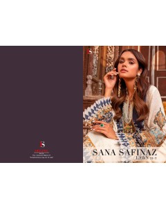BUNDLE OF 6 WHOLESALE SALWAR SUIT CATALOG Sana Safinaz lawn 21-2 by DEEPSY SUITS