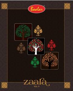 BUNDLE OF 24 WHOLESALE SALWAR SUIT CATALOG Baalar Zaara Vol-9