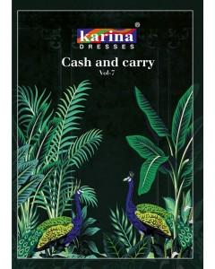 BUNDLE OF 12  WHOLESALE SALWAR SUIT CATALOG  Karina Cash & Carry Vol-7