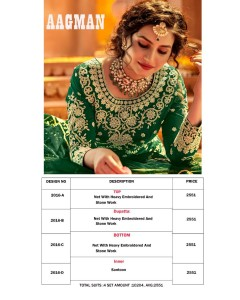 BUNDLE OF 4 WHOLESALE GOWN  CATALOG AAGMAN .  2016 Colours.  BY AVIGHAYA