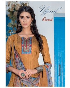 BUNDLE OF 9 WHOLESALE SALWAR SUIT CATALOG UJJWAL BY RIVAA