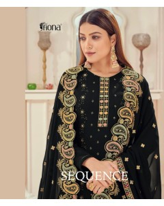 BUNDLE OF 4  WHOLESALE SALWAR SUIT CATALOG SEQUENCE  BY FIONA