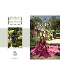 BUNDLE OF 6  WHOLESALE SALWAR SUIT CATALOG   ROHA-Jacard silk BY ALISA