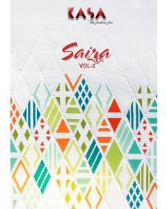BUNDLE OF 10  WHOLESALE SALWAR SUIT CATALOG  Suryajyoti Kasa Saira vol-2 Readymade Suit