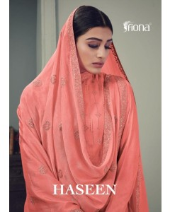BUNDLE OF 4   WHOLESALE SALWAR SUIT CATALOG HASEEN . BY FIONA
