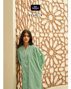 BUNDLE OF 6  WHOLESALE KURTI CATALOG  PEARL 4  BY FOUR BUTTONS