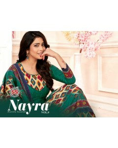 BUNDLE OF 12 WHOLESALE SAWAR SUIT CATALOG  SS Nayra Vol-9  BY SS