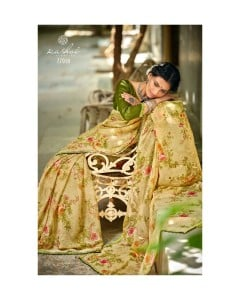 BUNDLE OF 10  WHOLESALE SAREE CATALOG   Radhika  BY  Kashvi