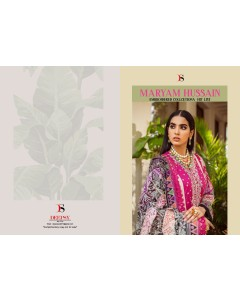 BUNDLE OF 3 WHOLESALE SALWAR SUIT CATALOG Maryam Hussain embroidered Hit List by DEEPSY SUITS