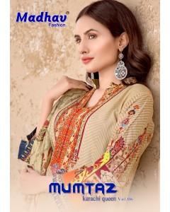 BUNDLE 6 WHOLESALE SALWAR SUIT CATALOG  mumtaz karachi Queen vol 6 BY MADHAV