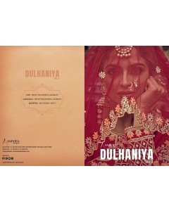 BUNDLE OF 4  WHOLESALE SALWAR SUIT CATALOG   DULHANIYA VOL-2 BY ..Amyra Designer