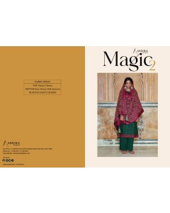 BUNDLE OF 4 WHOLESALE SALWAR SUIT CATALOG   Magic Vol-2 BY Amyra Designer..