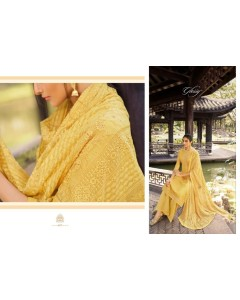 BUNDLE OF 5  WHOLESALE SALWAR SUIT CATALOG ROOH. BY - Glossy .