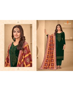 BUNDLE OF 6 WHOLESALE SALWAR SUIT CATALOG AMBER BY TUNIC HOUSE