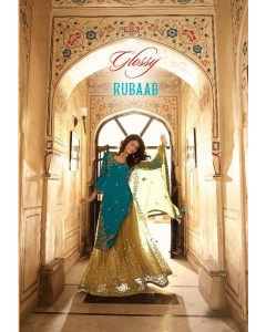 BUNDLE    OF 8     WHOLESALE   SALWAR SUIT  CATALOG  RUAAB. Series -15156 to 15163. BY Glossy .