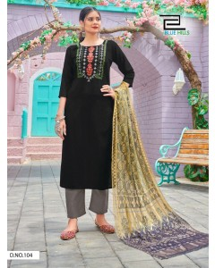 bundle of 8 readymade salwar suit New Generation by Blue Hills