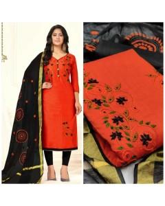 bundle of 6 dress material  TCNX Chanderi 2