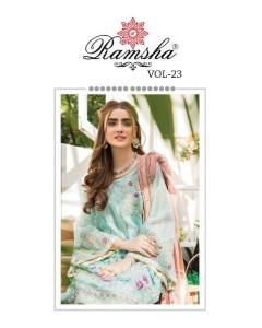 bundle of 4 pakistani suit  R 355 To R 358 by Ramsha
