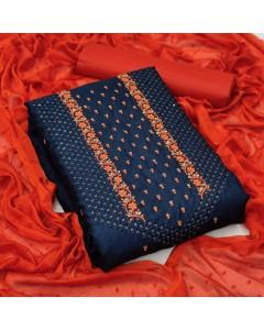 jumble of 4 dress material TCDS Silk 2