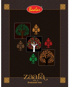 Bundle of 18 wholesale Readymade Salwar Suits Catalogue Zaara Vol 9 by Baalar