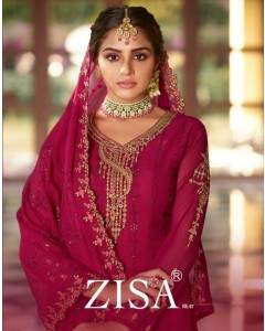 Bundle of 6 wholesale salwar kameez catalogue zisa vol 67 by meera trendz