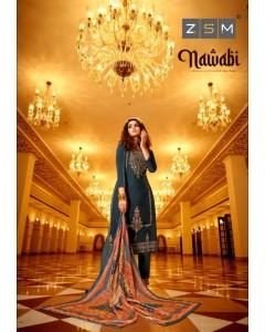 Bundle of 6 wholesale salwar suit Catalog NAWABI 1 By ZSM